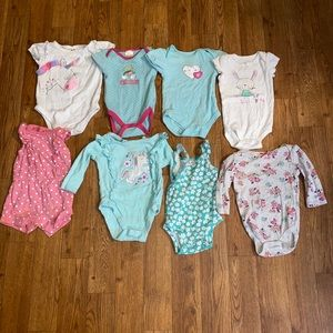 Baby girl one piece size 0-3 months